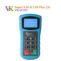 Wholesale vw can key programmer - New VW Key Programmer Super VAG K CAN Plus 2.0 Odometer Programmer Diagnostic Scanner