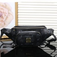 Wholesale new arrival brand bags - New arrival women designer waist bag luxury M brand sport travel bag good quality leather bags