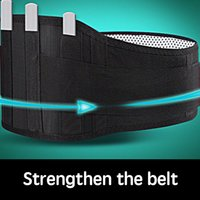 self heating magnetic therapy waist Australia - Oloey Self-heating tactical belt Magnet magnetic therapy warm support sweat belt For Postpartum abdominal warm or waist injury