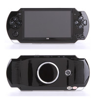 Wholesale 4.3 game mp4 resale online - 4 Inch Screen MP4 Player Game Console G Memory LCD Screen Portable Video Game Player