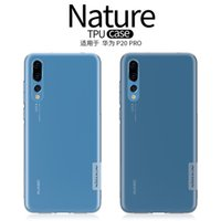 Wholesale Nillkin Cover Case - Nillkin For Huawei P20 Case Clear Soft TPU Back Cover Phone Case For Huawei P20 P20 Pro