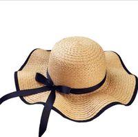 66efcff5b7e big brimmed beach hat Australia - The New Style Straw Hat Female Summer  Beach Hat Can