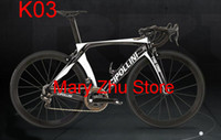 Wholesale 1k carbon road frame - white black Full carbon fiber T1000 Cipollini RB1K THE ONE carbon road frames with BB86 3K UD 1K Matte Glossy for selection free shipping