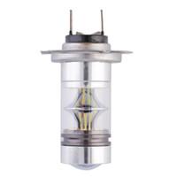 luces de marca escondidas al por mayor-1x HID blanco H7 6000K 100W LED 20-SMD Proyector niebla conducción DRL Bombilla a estrenar