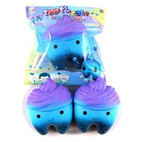 Wholesale tooth doll - Fashion Lovely Squishy Jumbo Hand Made Starry Sky Tooth Shape Squishies Squeeze Elasticity Stretch Anti Stress Doll Creative 11sh BR