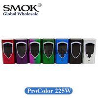 Wholesale Smoktech E Cig - Authentic SMOK ProColor 225W Box Mod Pro Color 225 E Cig Vape Mod 100% Original SMOKTECH Vapor Mod