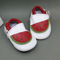 Wholesale walkers for babies - 2018 baby first walker shoes for girls and boys in cute design kids real leater shoes free shipping