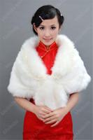 véus de noiva china venda por atacado-2019 venda quente Atacado curto parágrafo véu de noiva bordado branco véu de marfim China loja de fábrica