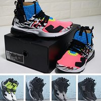 Wholesale free shipping running shoes original resale online - Presto Mid Acronym running shoes with original box best quality sneaker sports shoes size