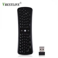 Wholesale otg keyboard resale online - VBESTLIFE T6 Ghz Wireless Axis Gyroscope Air Mouse Keyboard Remote Control for PC Smart Android TV Box OTG Phones Tablet PC