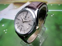 Wholesale strap can for sale - Group buy sell like hot cakes New Men s Luxury Fashion Watch Military Sports Waterproof Leather Strap Quartz Watch Can Be