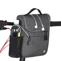 много электрических машин оптовых-RHINOWALK Bicycle Front Bag Large Capacity Multi-function Front Head Bag Folding Bike Electric Car Rainproof Cover