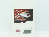 Wholesale high speed micro sd - 2018 Top Selling 128GB 64GB 32GB EVO PRO PLUS Micro SD TF Card 80MB s UHS-I Class10 Mobile Memory Card