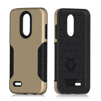 Wholesale phone carbon for sale – best Phone case For LG K10 For samsung galaxy J3 MetroPCS J7 Hybrid TPU PC Armor Carbon Fiber Captain protection cover C