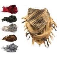 Wholesale desert scarfs resale online - 2018 New Muslim Hijab Kerchief Fashion Camouflage Desert Arabic Thick Men Winter Military Windproof Designer Scarves jk U U