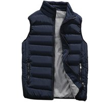 Wholesale mens vest jackets sleeveless for sale - Group buy Vest Men New Stylish Autumn Winter Warm Sleeveless Jacket Army Waistcoat Men s Vest Fashion Casual Coats Mens XL