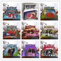 Wholesale bedding set 3d print for sale - 3D Printed Bedding Game Fortnite kids room Bedding Sets Fortnite Battle Royale duvet Cover Set pillowcase quilt cover bed US AU size gifts