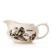 китайские горячие чашки оптовых-горячие продажи кулак класс фарфор пейзаж китайская ярмарка Кубок chahai ЭКО-кун-фу чай инструмент T295