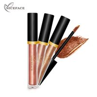 NICEFACE Lidschatten Liquid Highlighter Metallic Shadows Wasserdicht 17 Farben Pigment Glitter Eyes Liquid Lidschatten Make-up Pen E17010
