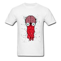 Wholesale Blue Brains - Men's 3D Print Cool T-Shirt Bad Brain Dripping T Shirt Art Graffiti Design Comic Tee Shirts For Friend Good Quality Sweatshirt