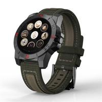 kol saati kalp toptan satış-Akıllı Bilek İzle N10B Kol Termometre Altimetre Barometre Kalp Hızı iOS Android Telefon Için Smartwatch Spor Izci