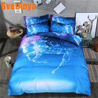 постельное белье для лошадей оптовых-Svetanya Pillowcase+Duvet Cover Bedding Set (no Sheet) Horse Printed Bedlinen Twin Full Queen Double King Size