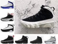 Wholesale Rose Eva - With box New 9s men basketball shoes LA OG Space Jam Tour Yellow PE Anthracite The Spirit Johnny Kilroy sports Sneakers