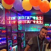 bar ışıkları satılık toptan satış-Sıcak satış LED neon işareti ışık Açık LED Işareti Ekran Işareti yanıp sönen ışıklar iş, duvarlar, mağaza bar lamba