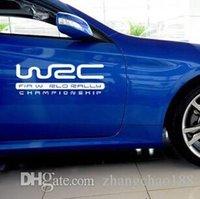 adesivos para carros wrc venda por atacado-1 acessório exterior do automóvel do PC 20 * etiquetas do carro de 7CM WRC CA-50