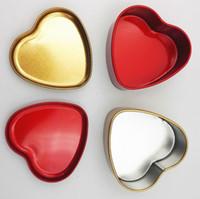 kalp şeklinde şeker teneke kutu toptan satış-500 adet Düğün Şeker Teneke Kutu Kalp Şekli Şeker Kutusu Çeşitli Renk Düğün Malzemeleri ücretsiz kargo SN1014