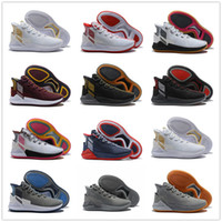 official photos 7154c 5519c 2018 D Rose 9 White Gold Mens Basketball Shoes Man Top Quality Derrick  Rose shoes 9 Sports Sneakers designer shoes Size 40-46