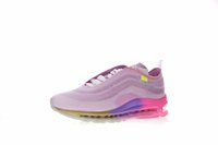 Wholesale rainbow 45 for sale - 2018 Fashion Designer Serena Williams Queen Multicolor Rainbow Pink Gradient Purple Yellow Running Shoes Men Women Sneakers Size