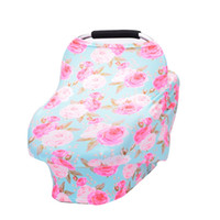 Wholesale cars feeding for sale - Nursing Privacy Cover Scarf for Mum Feeding Baby Car Seat Canopy Shopping Cart Cover Multifunction Cape for Breastfeeding