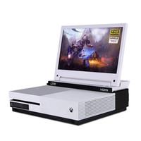 alto-falantes estéreo multimídia venda por atacado-G-STORY 11.6 Polegada HDR IPS FHD 1080 P Eye-care Monitor de Jogos Portáteis para Xbox One S / Xbox One X Embutido Multimídia Falante Estéreo