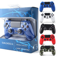 Wholesale sony play online - Bluetooth Wireless PS4 Controller for PS4 Vibration Joystick Gamepad PS4 Game Controller for Sony Play Station Without Packaging