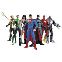 Wholesale DC Superman Batman Toy Collectibles Justice League Action Figure Superman Model Collection Toy Gift Set