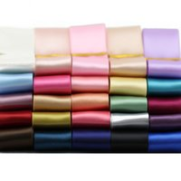 Wholesale Bulk mm Double Faced Satin Ribbon Colors DIY Jewelry Craft Suplies Arts and Crafts Home Room Decor Party Sypplies Wedding Decoration