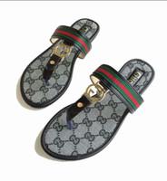 Wholesale summer sandals sale women heeled online - Hot Sale Women s Summer Sandals Flip Flops fashion Beach shoes Femininas Flat Designer Sandals casual slippers M7912
