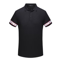 Wholesale summer clothing style for men for sale - 2018 summer the latest fashion men brand polo new style collar classic t shirt short sleeved t shirt men Top clothes for