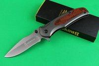 Wholesale excellent quality folding knife for sale - Group buy Excellent Quality Brow X46 pocket Folding blade knife survival pocket knife C HRC Blade folding knife camping knives