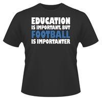 football presents UK - Mens Funny T-Shirt, Education Football, Ideal Gift or Birthday Present.