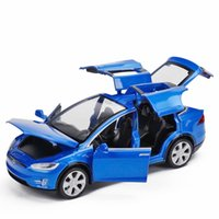 Wholesale birthday car decorations for sale - Group buy Alloy Car Model Toys Super Sports Cars High Simulation with Sound Head Lights Pull Back Kid Party Birthday Gift Collecting Decoration