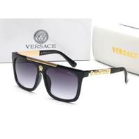 neue brillenweinlese großhandel-Klassische Sonnenbrillen der neuen Luxusmode-Italien-Marken-Sonnenbrillefrauen 9264 entwerfen quadratische Sonnenbrillen freies Verschiffen des eyewear