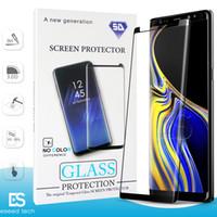 huawei 5g оптовых-Чехол дружественный БЕЗ ОТВЕРСТИЯ S10 5G huawei P30 Pro для Samsung Galaxy S10 S9 S8 ПРИМЕЧАНИЕ 10 Plus S7 S6 Закаленное стекло 3D Curve Edge Screen Protector