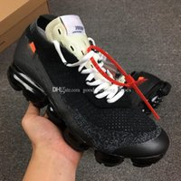 Wholesale designer r - 2018 Vapormax black white Trainers Breathe Running Casual Shoes For Mens Womens fashion designer R vapormaxs Knit Runner cs Sneakers Sports