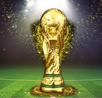 Wholesale Champions Brand - Brand new 2018 Russia World Cup Replica Trophy Champion Great for gifts full size 36cm tall