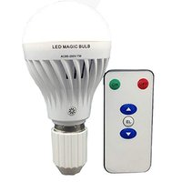 Wholesale normal bulbs online - Rechargeable LED Bulb W AC85 V lm Emergency time Hrs E27 B22 Base Ideal for Normal use and Emergency Use