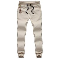 Wholesale Harem Pants Free Shipping - Wholesale-Free Shipping Spring Hip Hop Men Full Length Mens Joggers Pants Skinny Harem Men Pants Soft Men Pants Casual Sportwear M-5XL