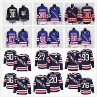 2018 Winter Classic 27 Ryan McDonagh 36 Mats Zuccarello 30 Henrik Lundqvist  Nash Brady Skjei Zibanejad Kreider NY New York Rangers Jerseys 20a0f003e