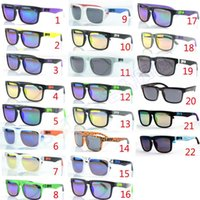 Wholesale Hot Ken - Brand Designer Spied KEN BLOCK Sunglasses Helm 19 Colors Fashion Men Square Frame Brazil Hot Rays Male Driving Sun Glasses Shades Eyewear